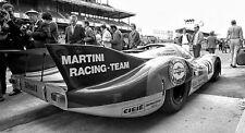 Exotic Porsche 911 GT 1 F 18 1970s Vintage Race Car Sport Metal Carousel Blue 12