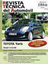 MANUAL DE TALLER Y MECANICA TOYOTA YARIS 1.4 DIESEL D-4D Desde 12/2005 A 11/2009