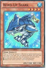 YU-GI-OH: WIND-UP SHARK - SUPER RARE - CBLZ-ENSE1 - LIMITED EDITION