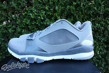 NIKE JORDAN TRUNNER DOMINATE FLX SZ 10.5 SILVER WHITE COOL GREY 602667 003