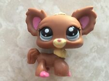 Littlest Pet Shop RARE Dog Puppy Chihuahua #1623 Pink Brown Blue LPS