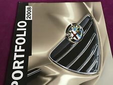 RARE Catalogue brochure Katalog LUXE GRAND FORMAT ALFA ROMEO Année 2008 14 pages
