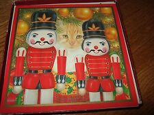 Vintage a pussycat's Christmas Cards W/Envelopes new box Pictura anne mortimer