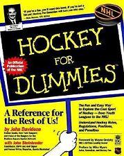 Hockey For Dummies(Hockey for Dummies, 1st ed)