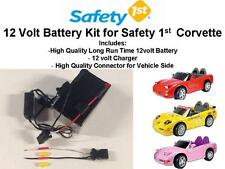 NEW! 12V 15AMP LONG RANGE BATTERY KIT FOR THE SAFETY 1ST CORVETTE CAR