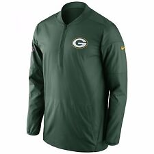 NIKE GREEN BAY PACKERS SIDELINE PERFORMANCE JACKET 746401-323 MENS SIZE 3XL