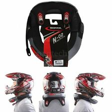 Motorbike Motocross Bike Collar Neck Guard Brace Throat Guard Protector Black