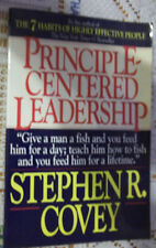 Principle-Centered Leadership by Stephen R. Covey (1992, Paperback) VG