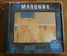 MADONNA - Bleu Noir (VS Mylène Farmer) CD RARE FAN EDITION