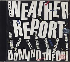 WEATHER REPORT - Domino theory - CD MADE IN AUSTRIA 1984 NEAR MINT CONDITION