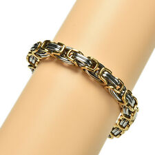 Fashion Punk Stainless Steel Biker Bicycle Motorcycle Chain Bracelet For Men