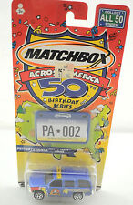 "2001 Matchbox Across America 50 Birthday Series ""Pennsylvania Chevy Tahoe Police"