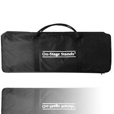 New On Stage MSB6500 Mic Stand Bag, Holds 3 Round Base, 3 Hex Base Mic Stands