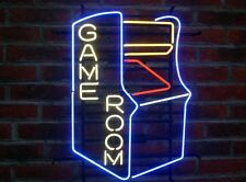 "New Game Room Arcade Pinball Man Cave Neon Sign 20""W x16""H [Fast Ship]"