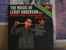 MUSIC OF LEROY ANDERSON 1 FENNELL LIVING PRESENCE LP