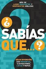 ¿Sabías que...?: Más de 6,000 preguntas y respuestas bíblicas (Spanish-ExLibrary