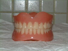 FULL UPPER&LOWER DENTURES/FALSE TEETH,BRAND NEW FOR ,GIFTS&JOKES