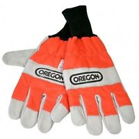 Oregon chainsaw safety gloves (size large)