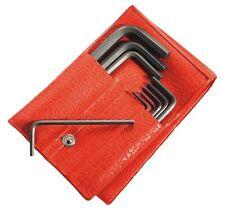 Facom 10pc Hexagon Hex Short key Set in Wallet 82H.JE10 0.9-6mm