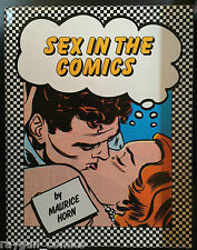 Sex in the Comics Hardcover Book by Maurice Horn Chelsea House