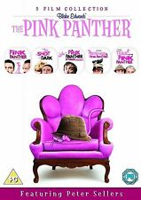 The Pink Panther 5 Film Complete DVD Collection 6 Discs Boxset