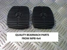 DISCOVERY 2 TD5 V8 BEARMACH BRAKE & CLUTCH PEDAL RUBBER SET PAIR 575818