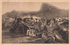 MAROC MOROCCO SCENES ET TYPES DU MAROC campagne de 1925 convoi civil à ain-aicha
