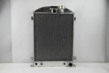 1933-1934 Ford Aluminum Radiator CHEVY-V8-Engine w/Cooler 33-34