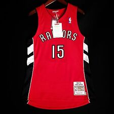 100% Authentic Vince Carter Mitchell Ness 03 04 Raptors away Jersey Size 40 M
