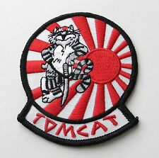 UNITED STATES NAVY USN TOMCAT JAPAN BABY EMBROIDERED PATCH 3 INCHES