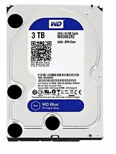 WD Blue 3TB Internal  5400 RPM SATA 6 Gb/s 64MB Cache 3.5 Inch - WD30EZRZ