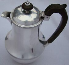 Sterling Silver Hot Water / Coffee / Tea Pot, Sheffield 1932, By Henry Wilkinson