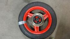1987 Honda CBR600F Hurricane F1 H981. rear wheel rim 17in