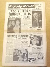 MELODY MAKER 1956 JUNE 16 TONY MARTIN MARION KEENE JAZZ BIG BAND SWING