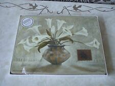 "Pimpernel Set of 4 NEW Placemats Sicilian Lilies 12"" x 9"""