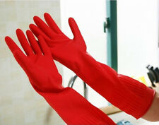 Rubber Latex Dish Washing Cleaning Long Gloves Household Kitchen Glove
