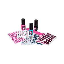 Monster High MHC030 Manicure Party Set Including Stickers Jewels Nail Polish New