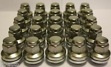 20 X M12 X 1.5 GENUINE STANDARD REPLACEMENT WHEEL NUTS FIT JAGUAR S TYPE 99 02