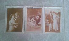 lote de 3 postales de fotos antiguas año 1988 Islas Baleares.
