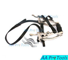 AA Pro: Equine Dental Specalum Horse Mouth Gag 6 plates Real Leather Stp Veterin