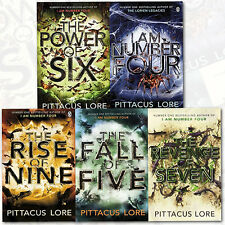 Pittacus Lore Collection Lorien Legacies Series 5 Books Set Paperback English UK