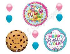 SHOPKINS 9 pc Cookie Birthday Girl Balloons Decoration Supplies Party  Sweet
