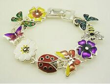 "Joan Rivers ""Garden Party"" Bracelet  7 1/2"""