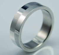 Mens and women NEW titanium simple classic  Wedding Engagement ring Plain band