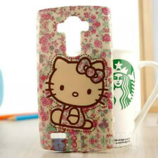 Lovely Hellokitty Cartoon TPU Soft Back Case Cover For LG G4 Mobile Phone