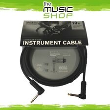 Planet Waves 10ft American Stage Instrument Cable - R/A Guitar Lead - AMSGRR-10