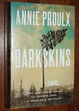 Barkskins by Annie Proulx (2016, Hardcover)   Signed/1st