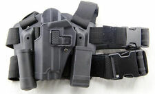 Tactical Drop Leg Left-hand Thigh Holster With 2 Pouches for SIG SAUER P226