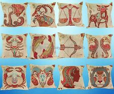 US Seller - 12pcs  pillow cushion  wholesale zodiac signs cushion cover