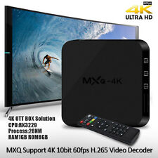MXQ 4K 1080P Smart TV BOX XBMC/Kodi H.265 Android 5.1 GPU OCTO Core WiFi 8GB
